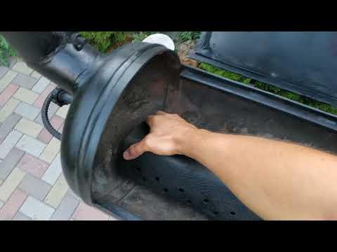 Мангал(смокер) барбекю коптильня спустя 3 года