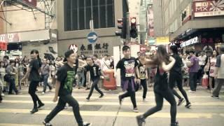 Xperia Z2 x MJ flashmob @旺角