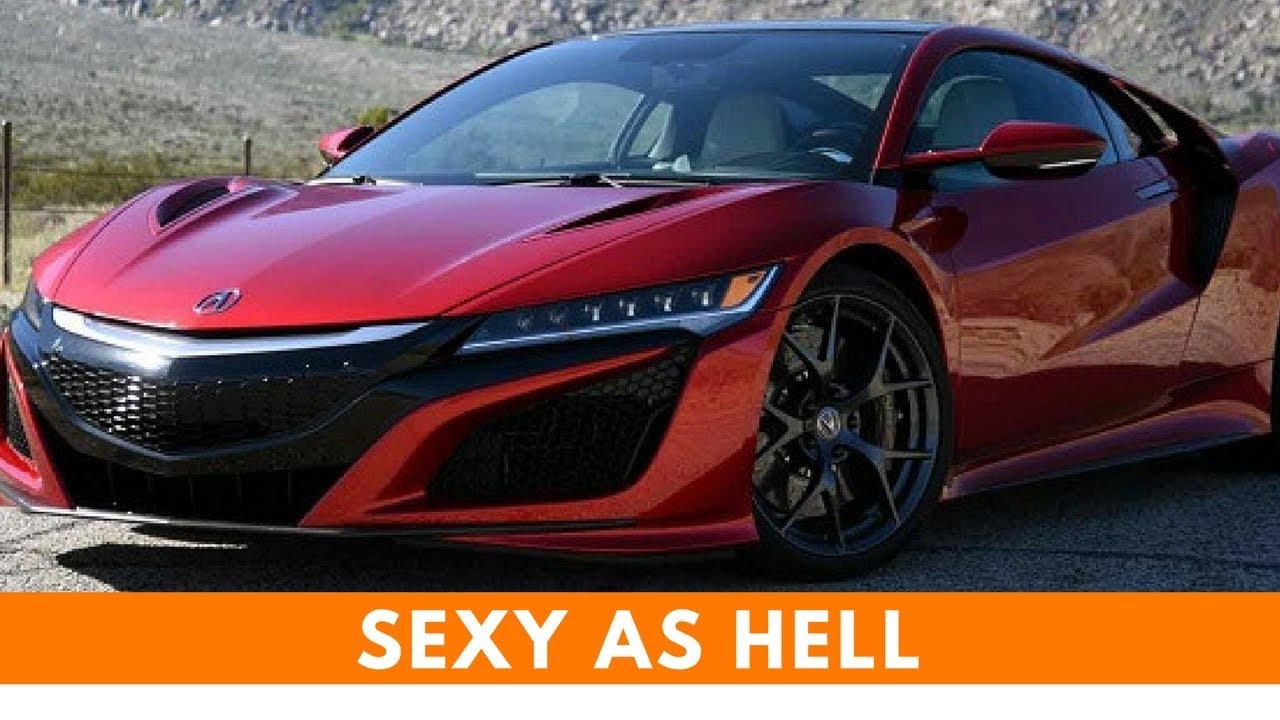 2018 acura nsx red interior price 0 60 top speed