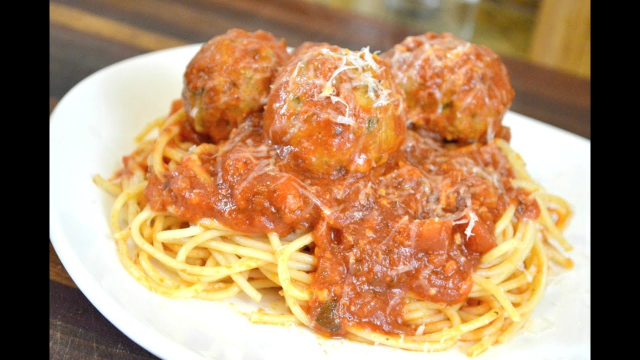 STUFFED MOZZARELLA TURKEY MEATBALLS RECIPE |Cooking With Carolyn