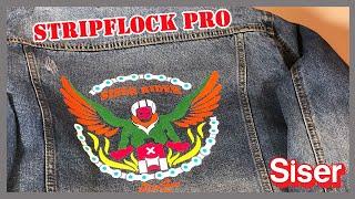 StripFlock® Pro! El vinil textil de Siser de gamuza, aterciopelado y se pueden hacer capas!