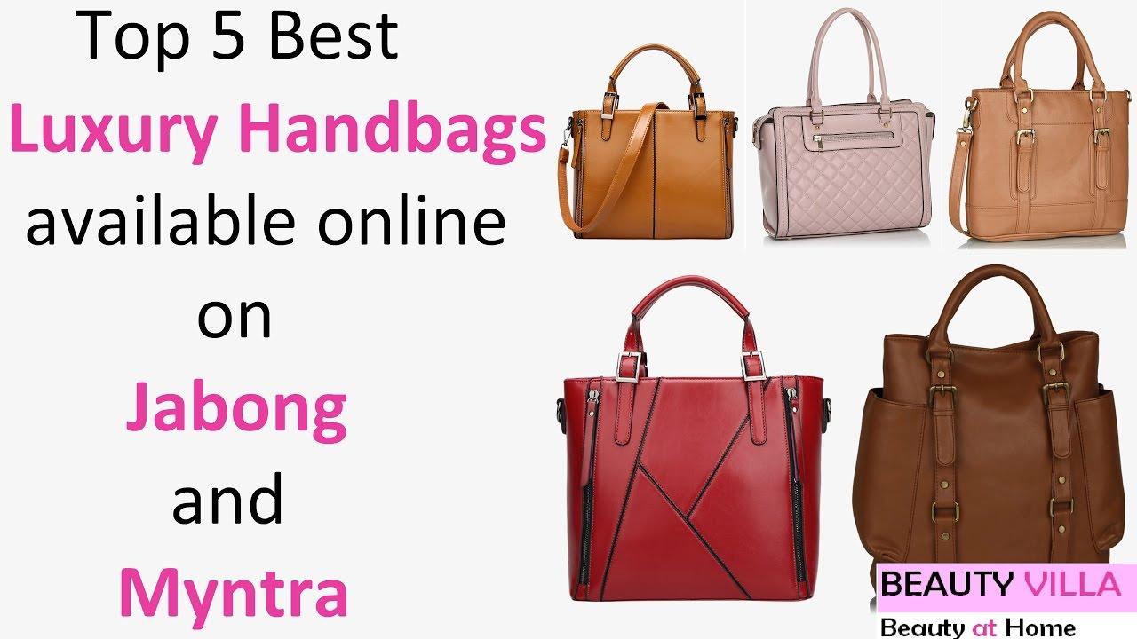 Top 5 Best Luxury Handbags Jabong And Myntra Haul