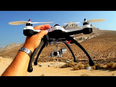 Flying 3D X8 Drone Gimbal Flight with HD Camera