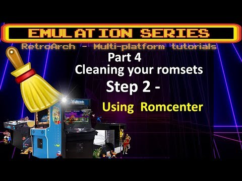 romcenter tutorial
