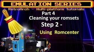 DETAILED Romset cleaning tutorial - STEP 2 - Using Romcenter  checking for bad names +more