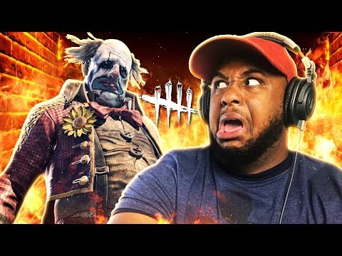 "DON'T WATCH THIS IF YOU HATE CLOWNS!! | Dead By Daylight ""Killer Clown"" DLC"