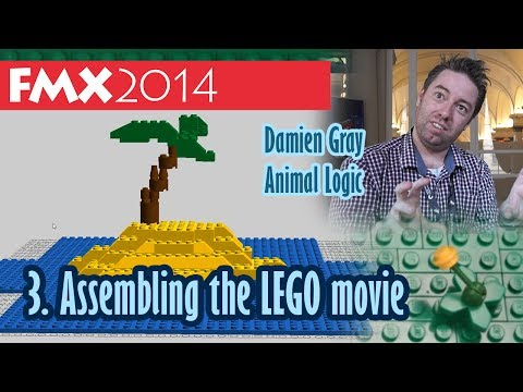 Interview: Assembling the Lego Movie - Damien Gray (FMX 2014)