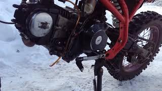 Обзор пит-байка Irbis TTR 125 и тест-драйв...