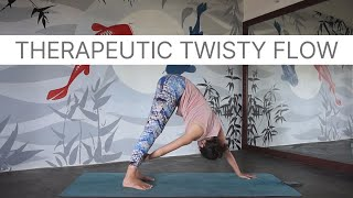 Therapeutic Twisty Vinyasa Flow with Micaela