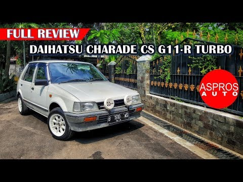 TURBO NCUS NCUS : DAIHATSU CHARADE CS G11R TURBO TAHUN 1986 By ASPROS AUTO