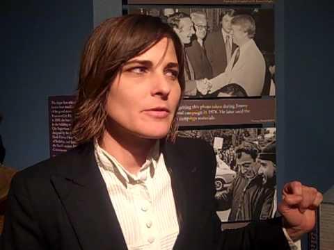 Actress Daniela Sea talking about Harvey Milk's legacy.