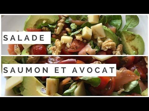 recette-salade-saumon-&-avocat-facile