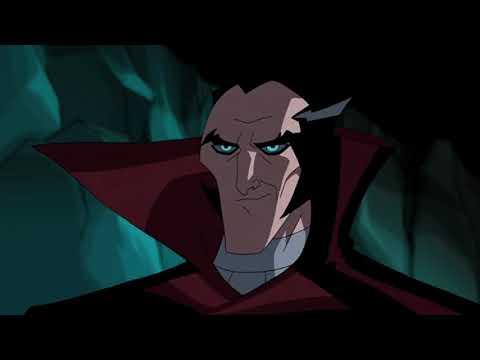 Бэтмен против дракулы мультфильм