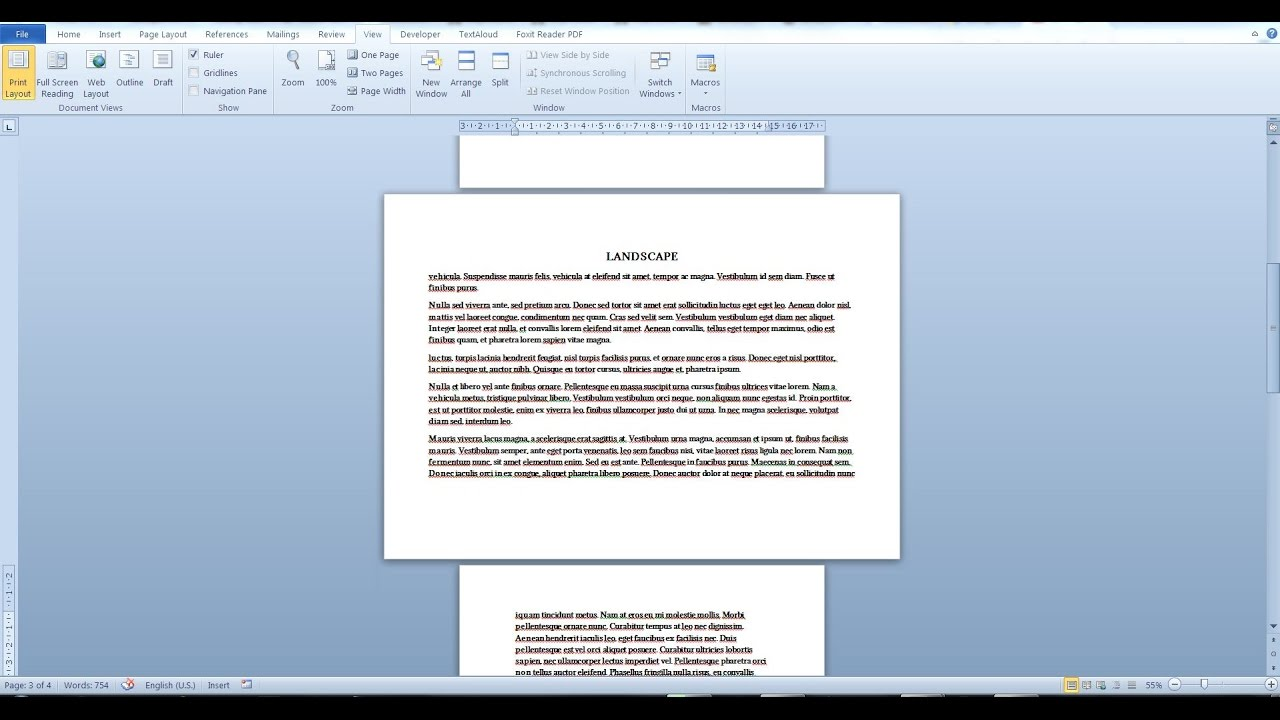 pdf change orientation of pages