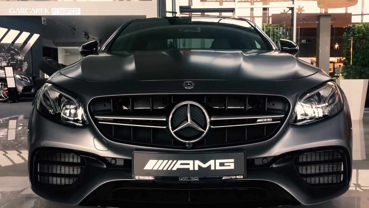 Mercedes AMG E63s 4MATIC Edition 1 612 Hp GARCAREK