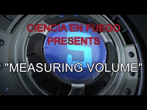 Ciencia en Fuengo -  Measuring Volume