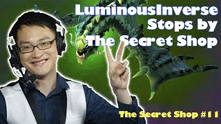 LuminousInverse Stops by to Talk Artifact  - Secret Shop #11