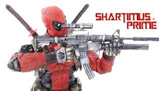 NECA Deadpool 1:4 Scale Marvel Comics Action Figure Toy Review