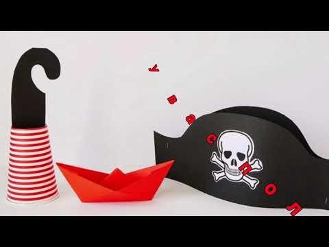 Как сшить шляпу пирата своими руками мастер класс