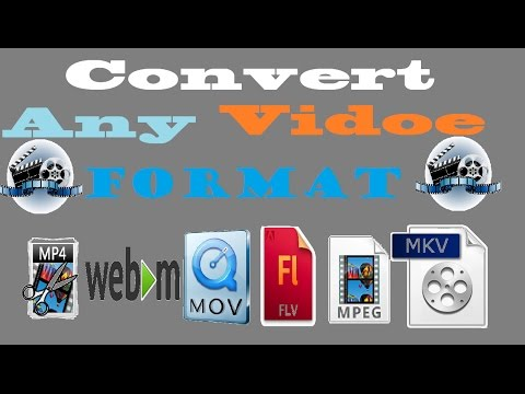 !!Simple Steps!!To Convert Any Video To MP4, FLV, MPG, TS, Webm, Ogg Using  VLC Media Player