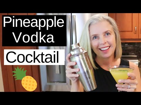 Pineapple Vodka Cocktail | SWEET With A Bit Of HEAT