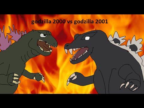 Daikaiju Battles #3: godzilla 2000 vs godzilla 2001 fragman