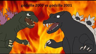 Daikaiju Battles #3: godzilla 2000 vs godzilla 2001