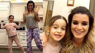 Ксюша Бородина танцует с дочерью - Трансляция, ответы на вопросы