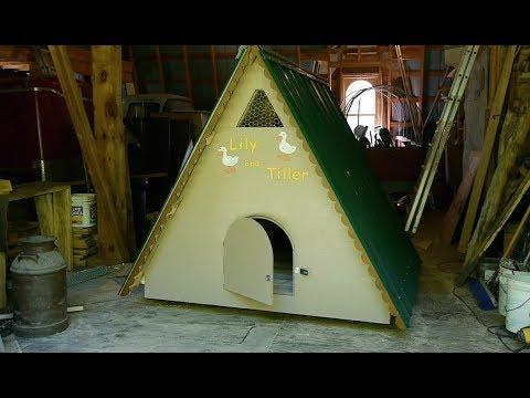 A-Frame Duck House