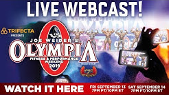 MR OLYMPIA 2019 FINALS - LIVE