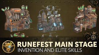 RuneScape - RuneFest 2015 - Invention & Elite Skills