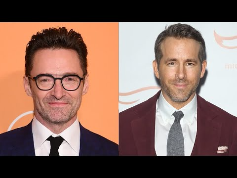 Hugh Jackman jokingly calls Blake Lively a 'saint' for marrying Ryan Reynolds