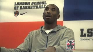 Kobe Bryant says he