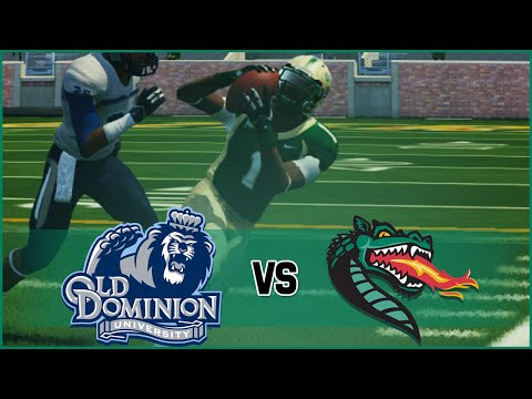 NCAA Football 14 UAB Blazers Dynasty- Year 2 Game 10 vs Old Dominion Monarchs