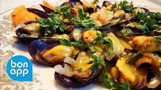 Прогулка по Франции - Традиционные мидии в вине и картофель фри