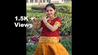 Mouliyil Mayilpeeli Charthi   Nandanam   Dance Cover   Vishu Special   Lakshmi