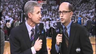 Video Mic Flag on NBA Finals.avi