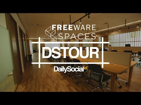 Nuansa Kayu di Coworking Space Freeware Suites | DStour #29