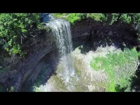 Waterfalls in Hamilton, Ontario | DRONE | GoPro | panoramique media