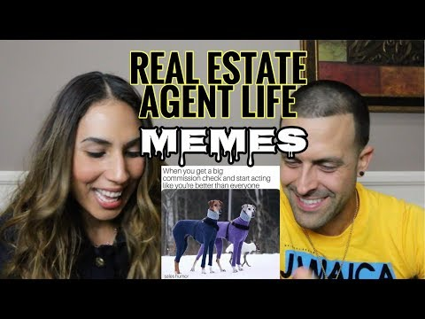 Life of a Real Estate Agent through Memes