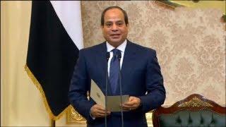 السيسي يؤدى اليمين الدستورية امام البرلمان رئيسا لفترة ثانية