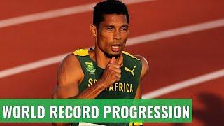400m World Records Comparison