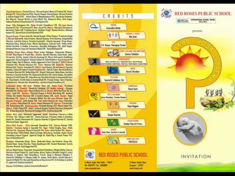 Annual Day 2011 Invitation Card Youtube