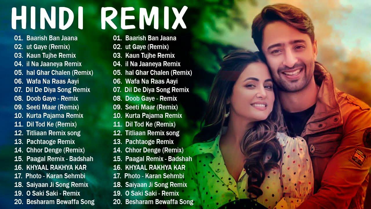 Bollywood Remix Songs - New Hindi Remix Songs 2021 | Baarish Ban Jaana (Remix) Payal Dev, Stebin Ben
