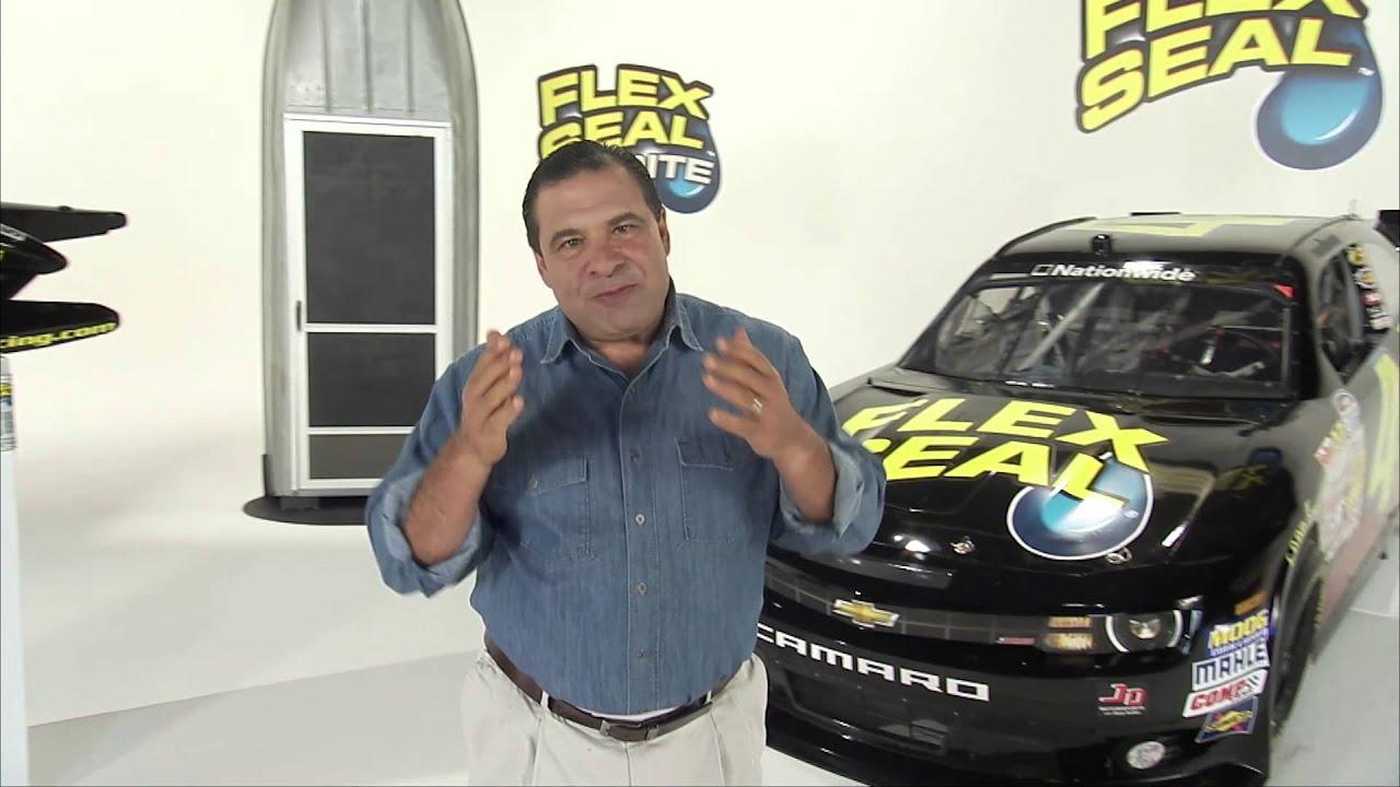 Flex Seal NASCAR Commercial Flex Seal YouTube