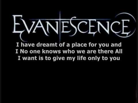 Evanescence - Anywhere Lyrics