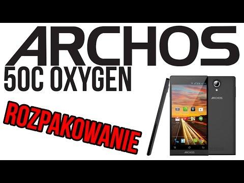 ARCHOS 50C OXYGEN - Rozpakowanie [PL]