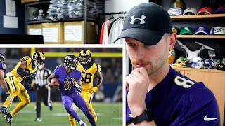 Rugby Player Reacts to LAMAR JACKSON vs Los Angeles Rams 2019 NFL Highlights!