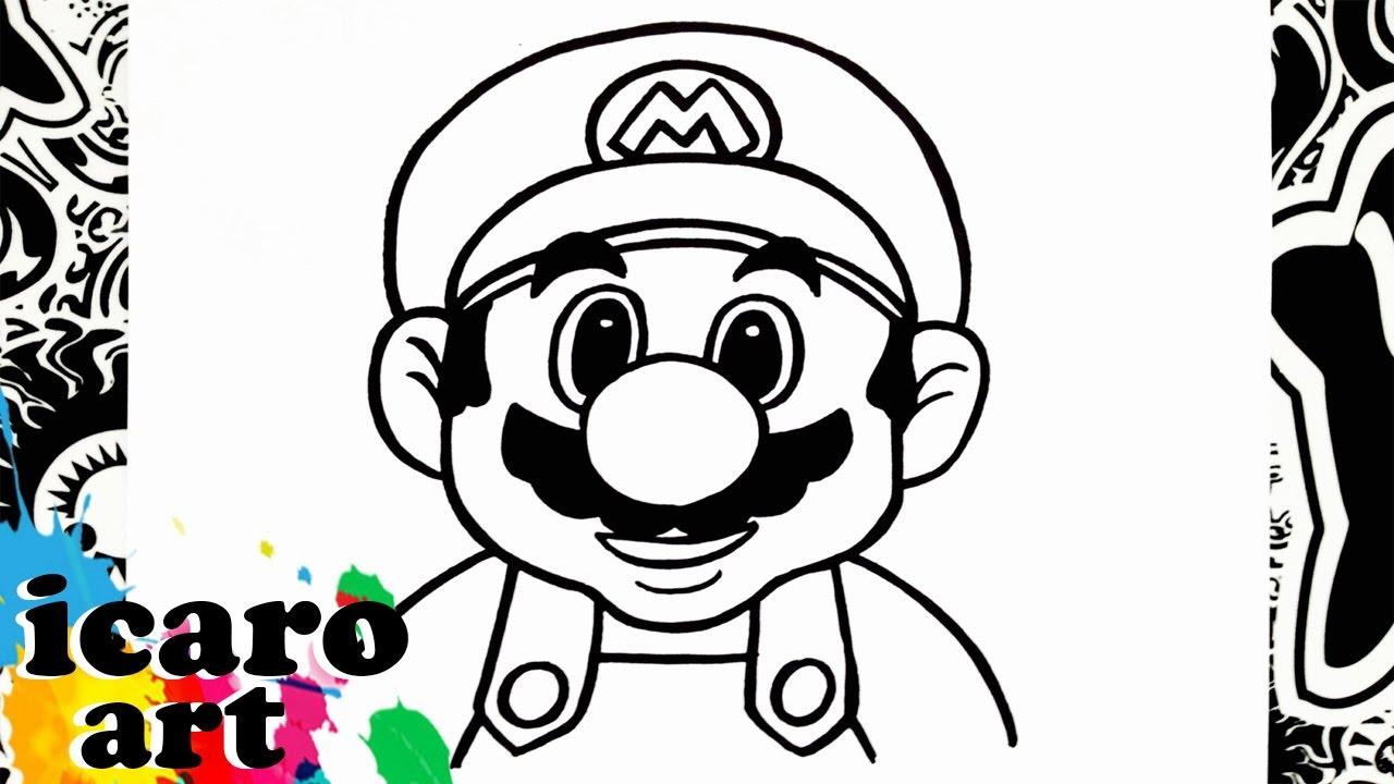 Dibujos Para Colorear De Mario