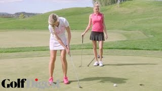 Sports Illustrated's Kelly Rohrbach & Blair O'Neal on Putting Inside an Opponent | Sexiest Shots